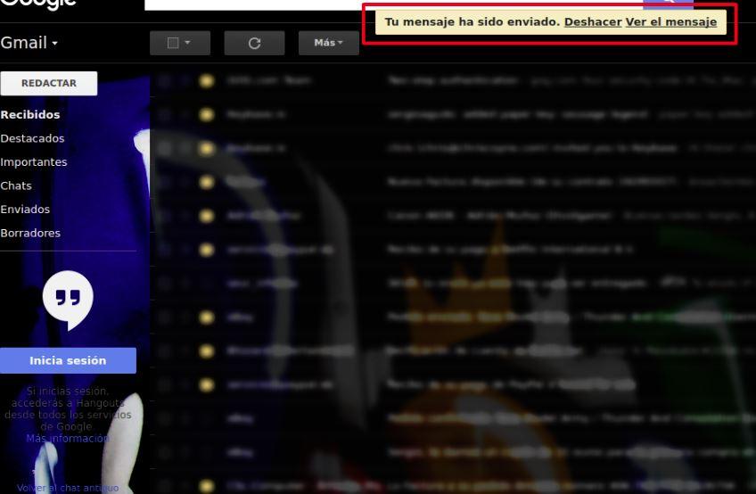 mensaje gmail