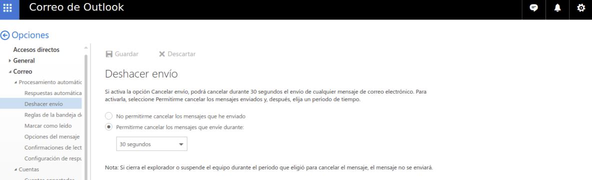 outlook configurar