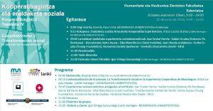 Kooperatibagintzan  Topaketak  IV  2016.06.10
