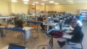 Nuevo laboratorio de automatización Industrial