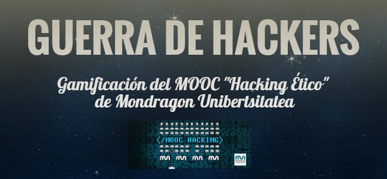 Cronología de la primera edición del MOOC sobre Hacking Ético