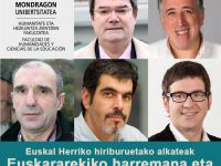 Five basque speaker mayors in Huhezi