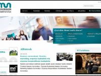 13. Mondragon Unibertsitatea has revamped its website