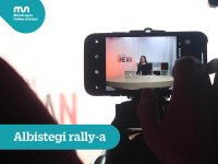 Albistegi  rally-a