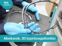 3D  inprimagailuekin  egindako  maskarak
