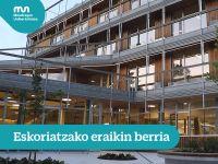 Nuevo edificio en Eskoriatza