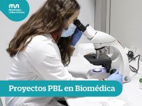 PBL projects at the Master's Degree in Biomedical Technologies
