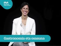 Usune Etxeberria – Gastronomy and Health (Short version)