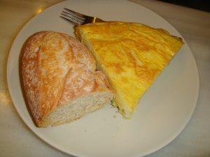pincho tortilla