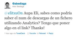 Tweet de @abediaga